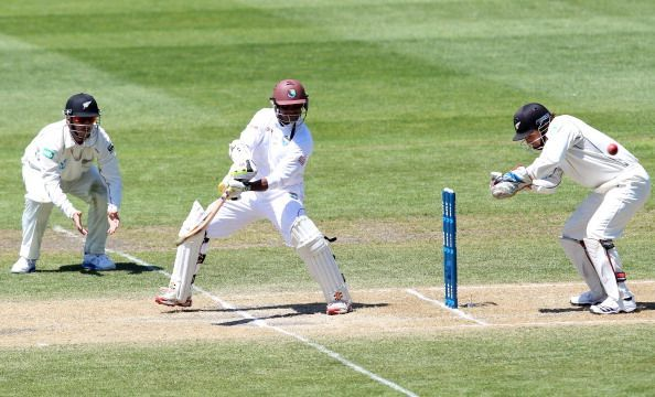 New Zealand v West Indies - First Test: Day 3