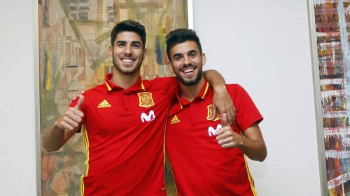 Marco Asensio (L) and Dani Ceballos (R) are the future of Real Madrid