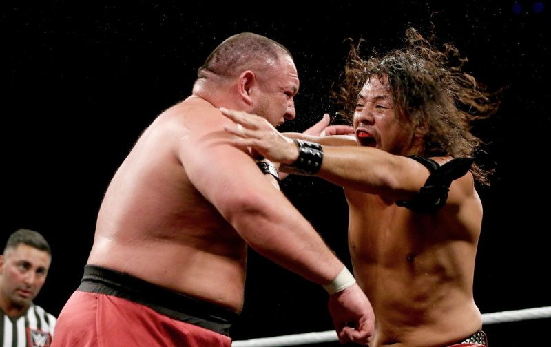 Samoa Joe and WWE US Champion Shinsuke Nakamura are no strangers to each other