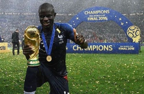 Kante is now a World Champion