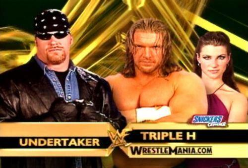Image result for triple h undertaker wrestlemania 17