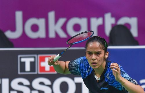 Saina Nehwal assuers India's first Asiad badminton medal for India by a woman.