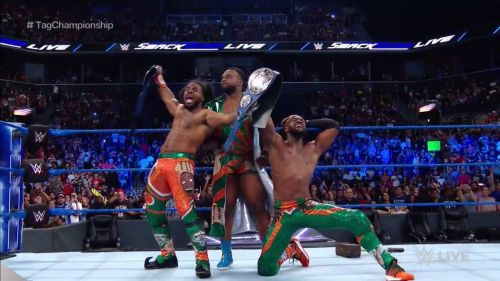 The New Day are the new SmackDown Tag Team Champions