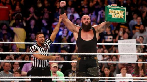 Braun Strowman defended and retained his Money in the Bank contract