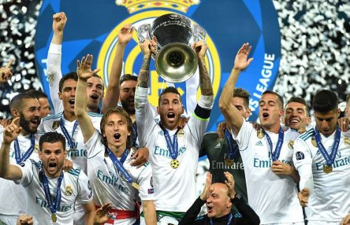 Real Madrid are the defending European champions