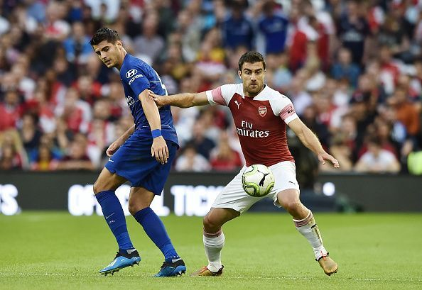 Arsenal will face Chelsea at the Emirates.