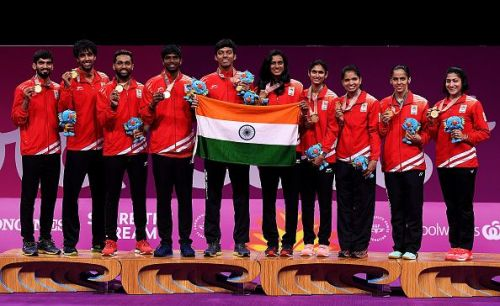 Badminton - Commonwealth Games Day 5