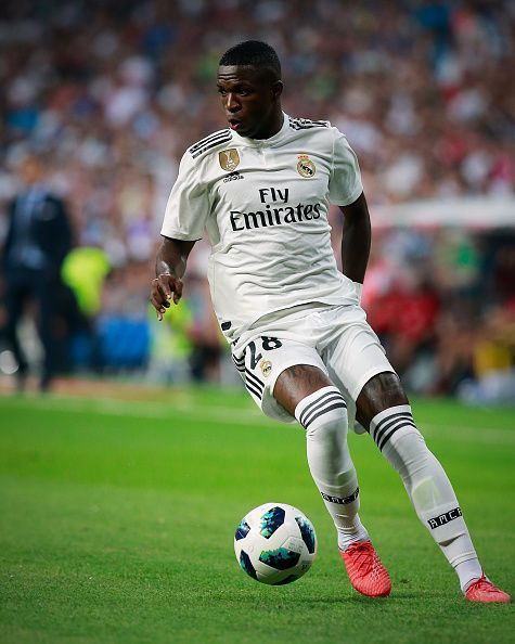 The Brazilian impressed in Real Madrid