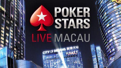 PokerStars Live Poker Actions In Macau