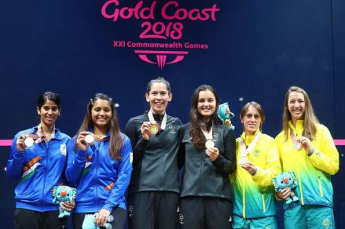 Squash - Commonwealth Games Day 11