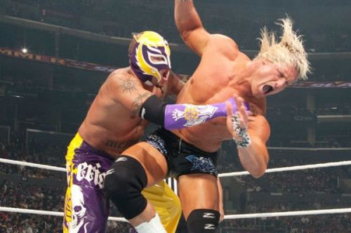 Dolph Ziggler and Rey Mysterio kicked off SummerSlam 2009 with a bang!