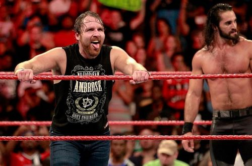 Image result for wwe dean ambrose and seth rollins
