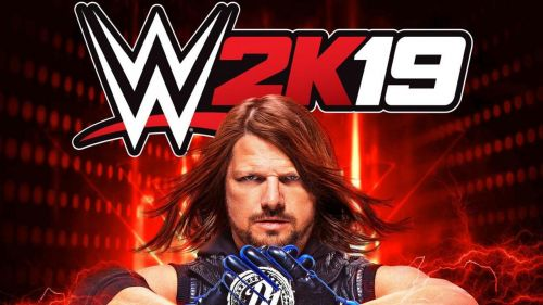 AJ Styles is the cover star for WWE 2k19