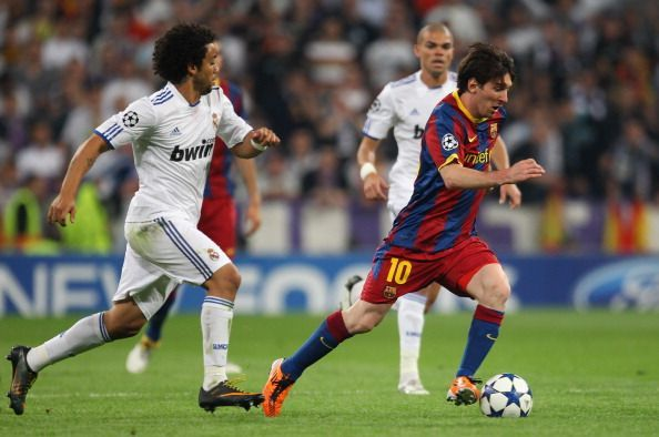 Real Madrid v Barcelona - UEFA Champions League Semi Final