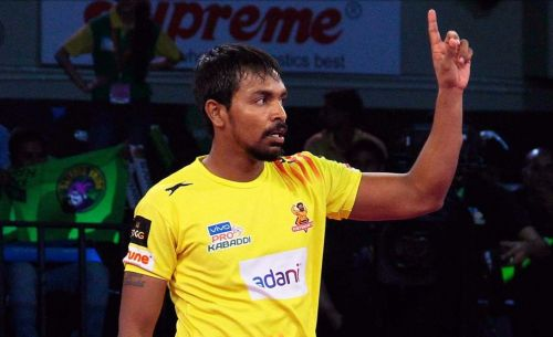 Chandran Ranjit came in the latter part of Season 5 and became Gujarat's permanent raider.