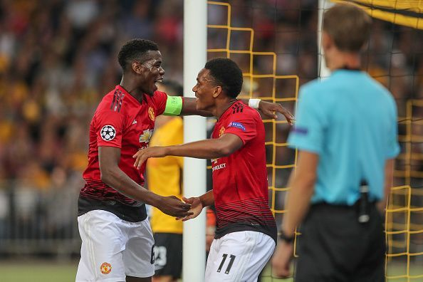 Image result for manchester united vs young boys