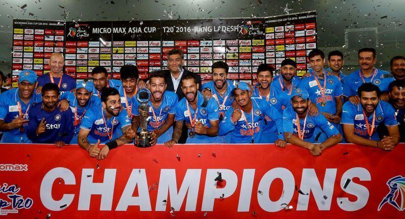 India won