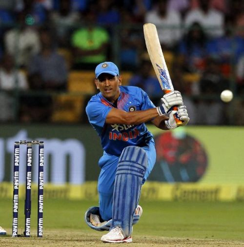 Dhoni is always consistent with the bat
