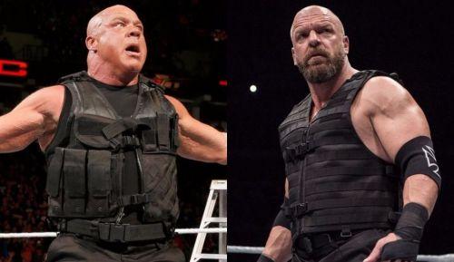 Could Triple H or Kurt Angle help the Shield?