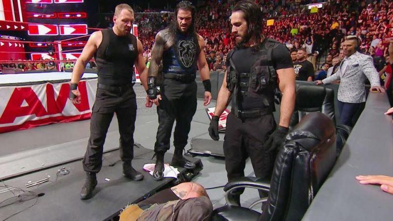 Shield reunites to take down Braun Strowman