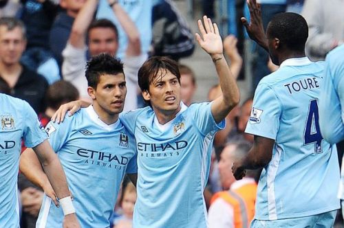 Image result for aguero silva and toure city