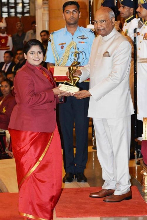 She won the Gold medal in Asian Games 2018 in the Women's 25 m pistol event and also has to her name Bronze medal at Asian Games 2014, and Gold medal at Commonwealth Games 2014