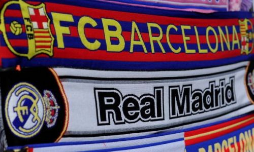 Real Madrid Barcelona Top 4 La Liga