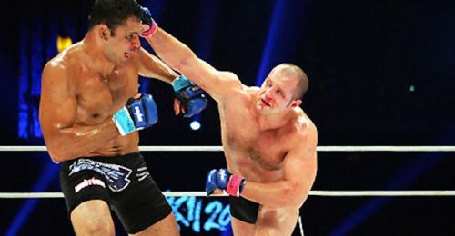 Fedor defeated Antonio Rodrigo Nogueira in 2003 to become the world's top Heavyweight