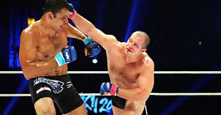 Fedor defeated Antonio Rodrigo Nogueira in 2003 to become the world