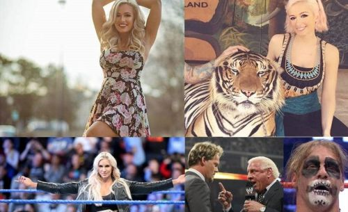 Scarlett Bordeaux faces Charlotte Flair in this fantasy storyline...what ensues is pure sports-entertainment