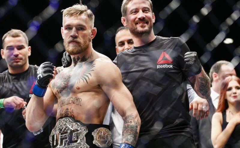 Conor McGregor has a ton of respect for his coach John Kavanaugh