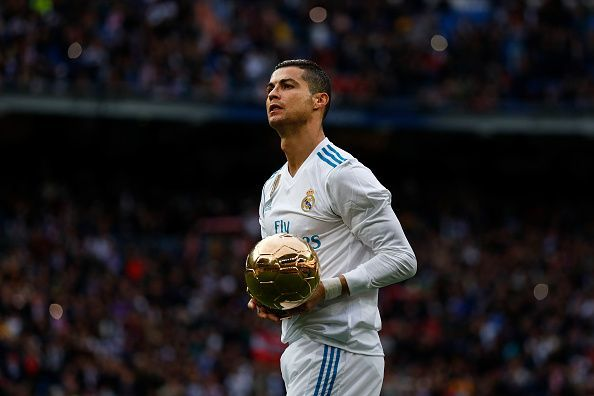 Cristiano Ronaldo has held four of the last five titles