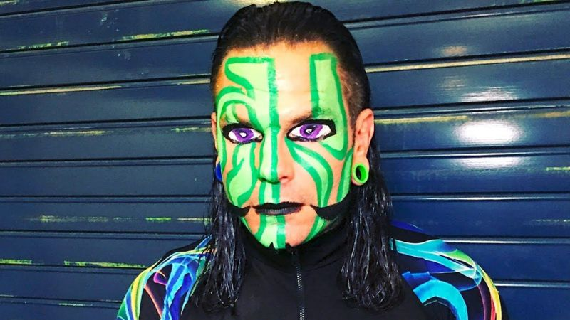 Wwe News Jeff Hardy Reveals Real Reason Behind His Iconic