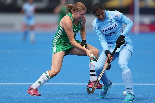 India v Ireland - FIH Womens Hockey World Cup