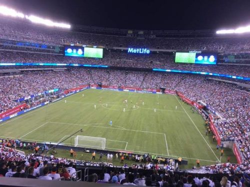 An International Champions Cup match-up between Bayern Munich and Real Madrid in 2016 at the MetLife Stadium attracted a sell-out crowd of over 86 000 people