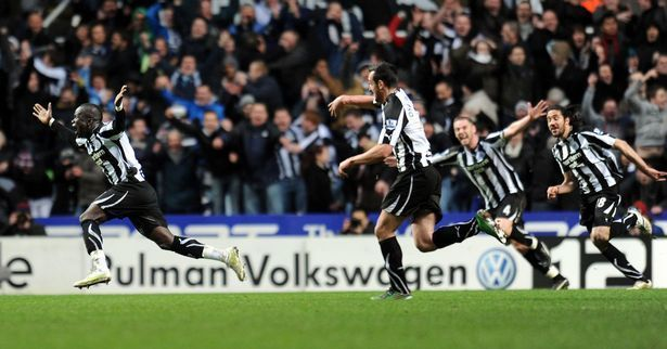 Arguably the most famous game between the two sides at St James' Park