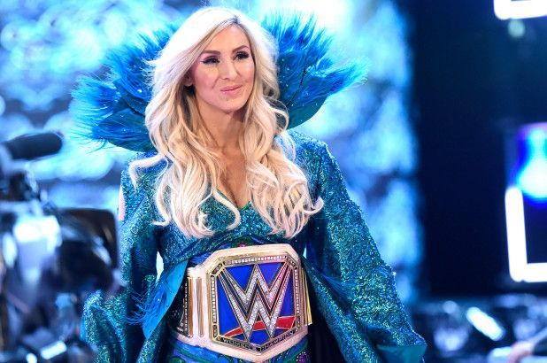 Charlotte Flair also features on the list