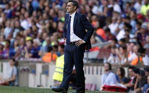 Valverde caught offguard