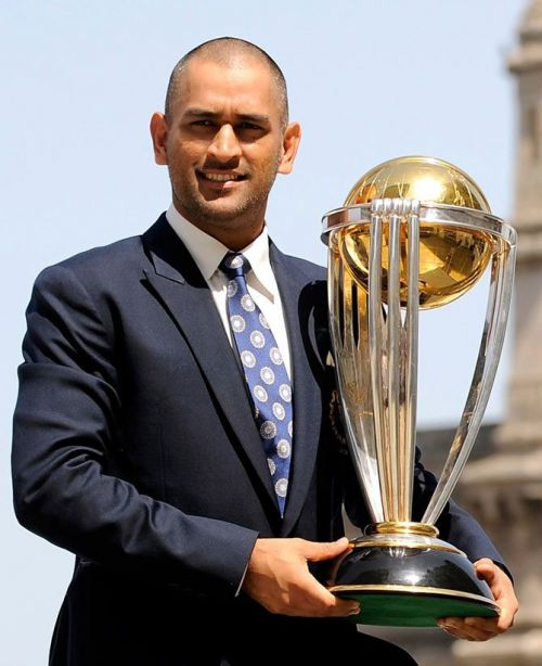 Dhoni the World Cup winning captain for India