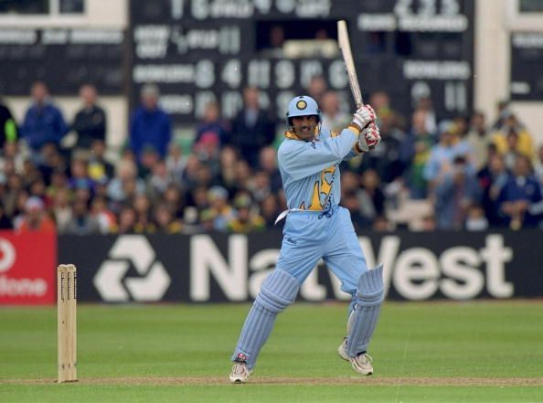 Mohammed Azharuddin of India