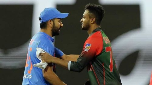 Rohit Sharma and Shakib will be the anchors in their respective teams