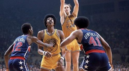 Warriors played against the Eastern Conference champion Washington Bullets(60–22) for the championship.