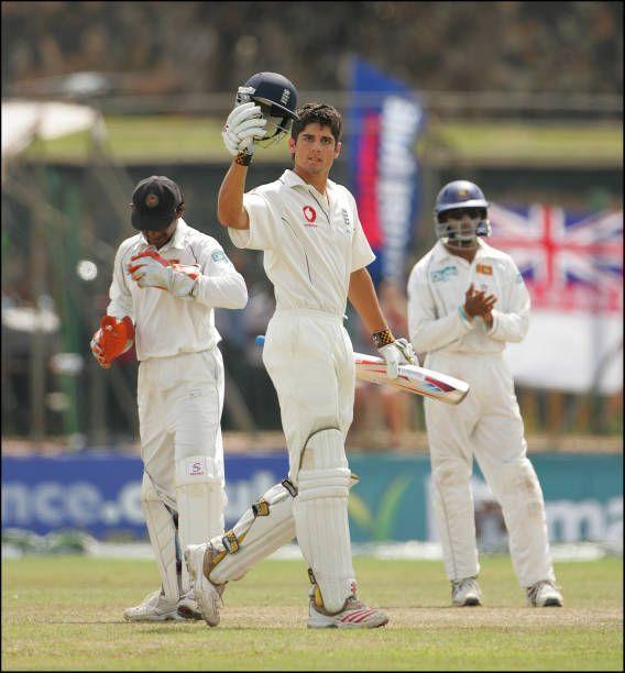 Image result for alastair cook 118 vs Sri Lanka – Galle (2007)