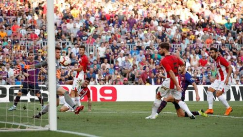 Barcelona drop points for the third successive league game