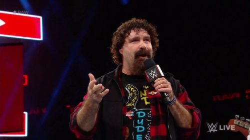 Mick Foley made the big announcement himself