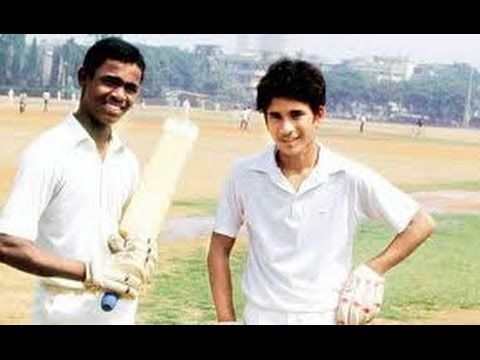 Tendulkar Kambli Junior Cricket World Record Partnership