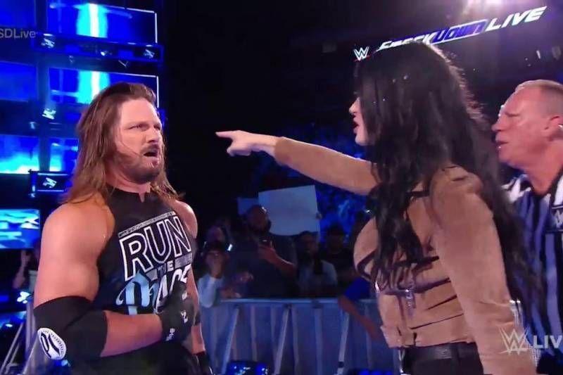AJ Styles SmackDown September 4