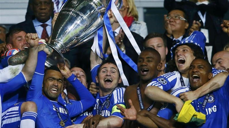 Image result for chelsea european cup