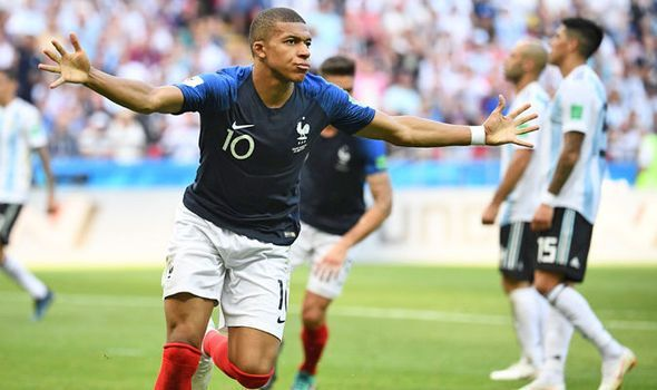 Kylian Mbappe announced himself at the World Cup