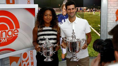 Naomi Osaka Novak Djokovic - cropped